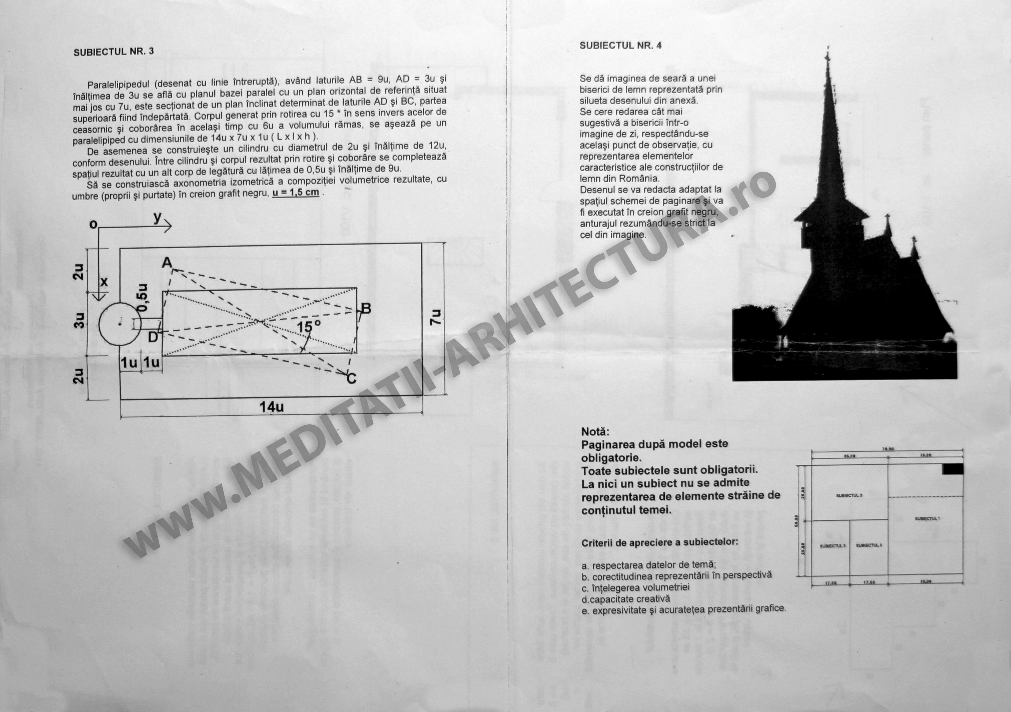 subiecte_admiterea_arhitectura_2011_ion_mincu_bucuresti